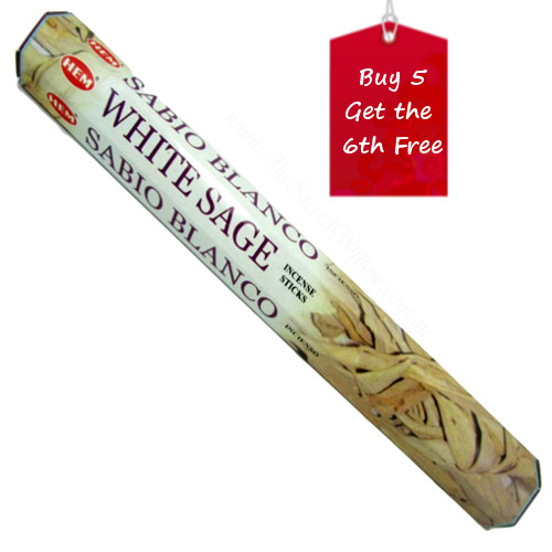 White Sage Hem Incense