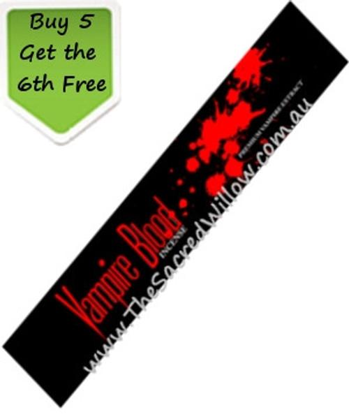Vampire Blood Incense 15g