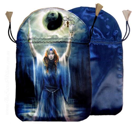 "Sacred Priestess Tarot Bag by Lo Scarabeo 6"" x 9"""