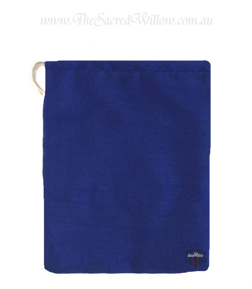 Blue Cotton Mojo Bag 10cm