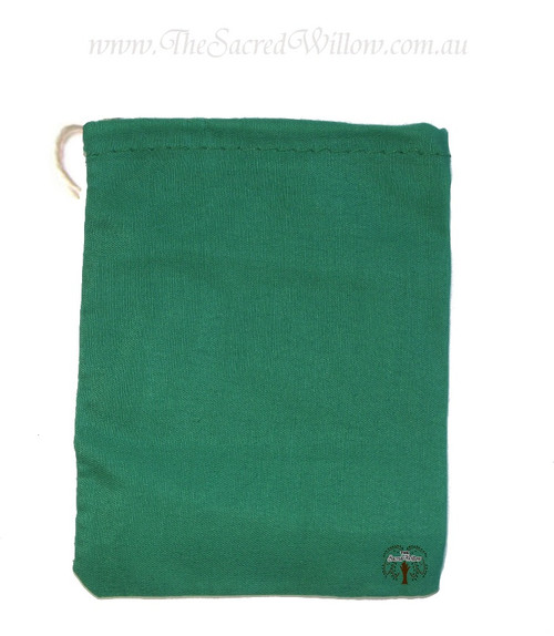 Green Cotton Mojo Bag 10cm