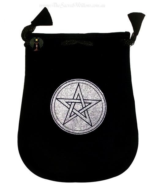 """Pentagram Velveteen Bag / Mojo Bag 13cm / 5"""""""