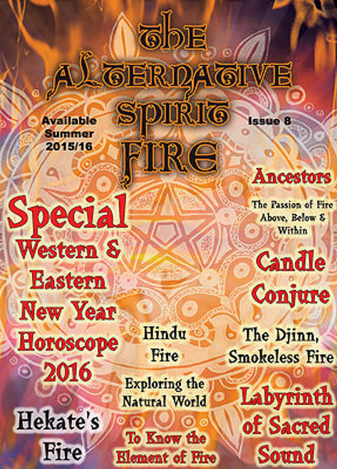 The Alternative Spirit Magazine 'Fire' Summer 2015/2016 Australian Hardcopy
