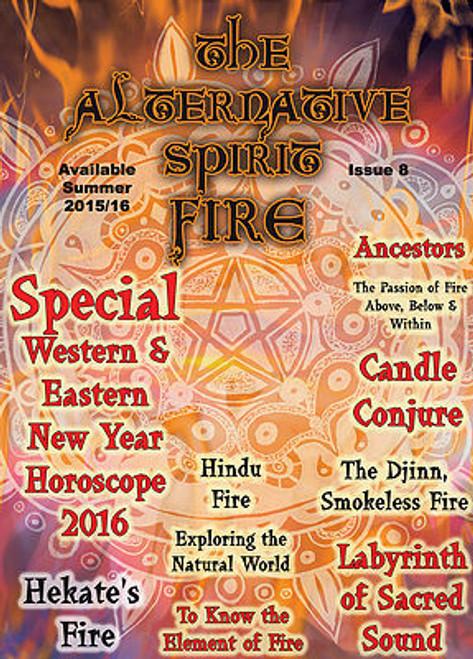The Alternative Spirit Magazine 'Fire' Summer 2015/2016 Australian Hardcopy