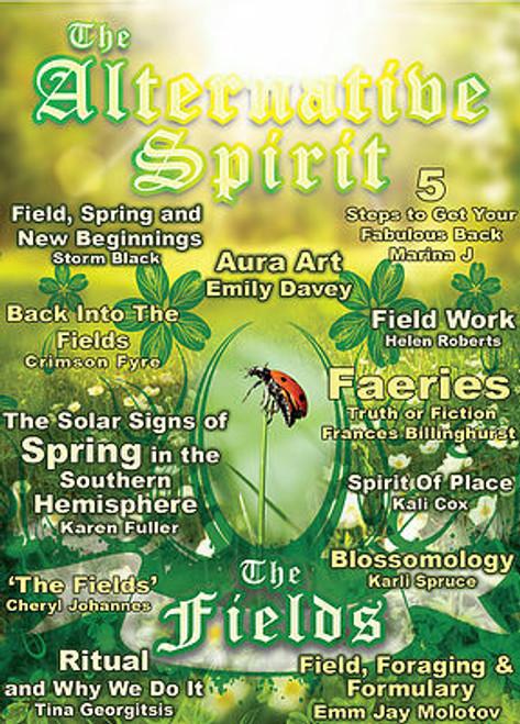 The Alternative Spirit Magazine 'The Fields' Spring 2016 Australian Hardcopy