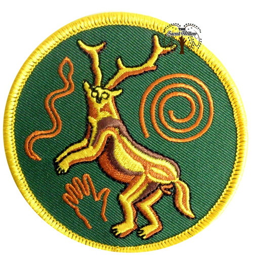 "Paleo Shaman 3"" Iron On Patch"