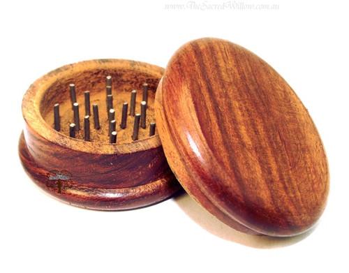 """Wooden Herb Grinder 2"""""""