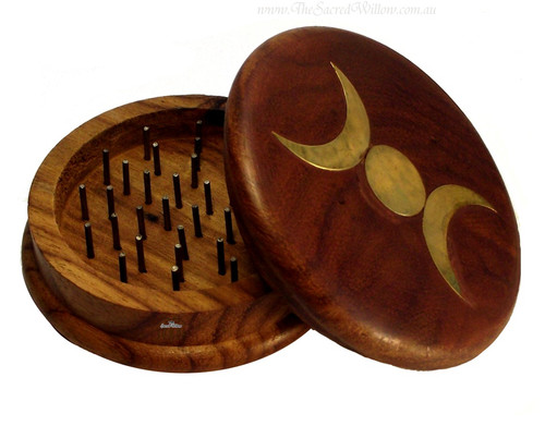Triple Moon Herb Grinder 3""