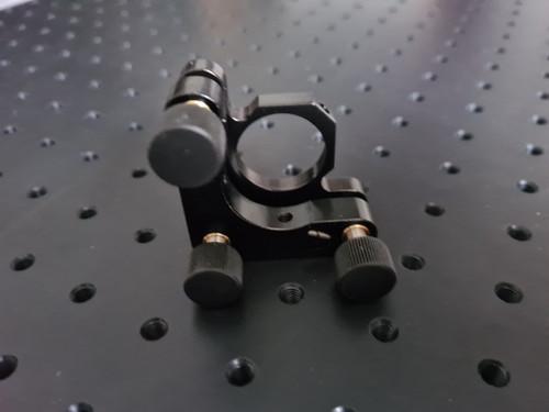 Kinematic mount for 25 mm diameter optics