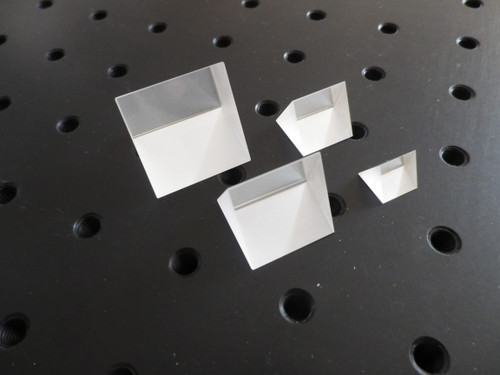 High Quality Equilateral Prism with 25mm sides in F2 Glass
