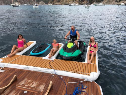 Yacht Beach Jet Ski Dock
