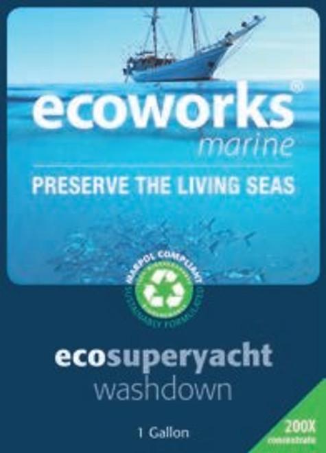 Ecoworks Superyacht Wash Down