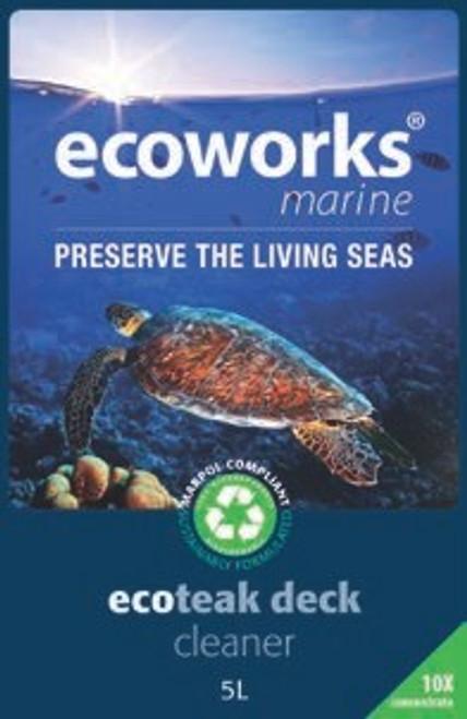 Ecoworks Teak Cleaner