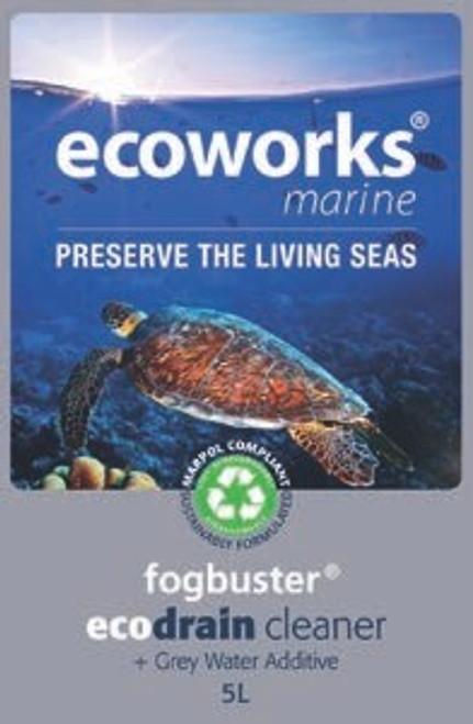 Ecoworks Fog Buster Drain Cleaner