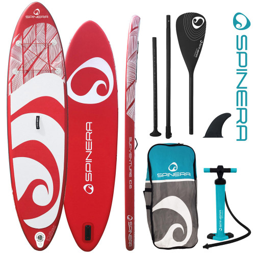 Spinera SUP Venture Red distributed by Medasia Marine