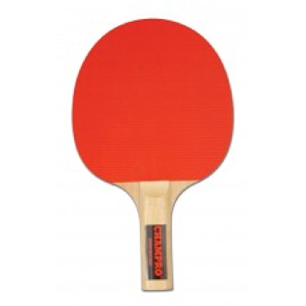 Champro Ping Pong Paddle- 5 Ply Rubber Faced