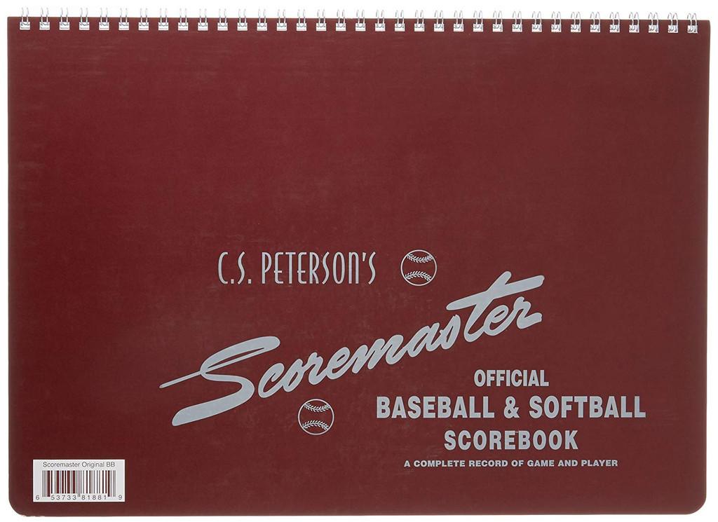 Scoremaster Baseball and Softball Scorebook