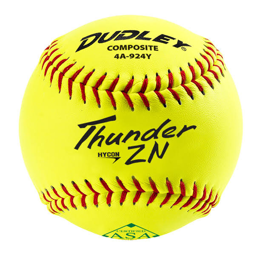 Dudley ZN Series Composite ASA 11 Inch Slowpitch Softball dozen 4A924Y