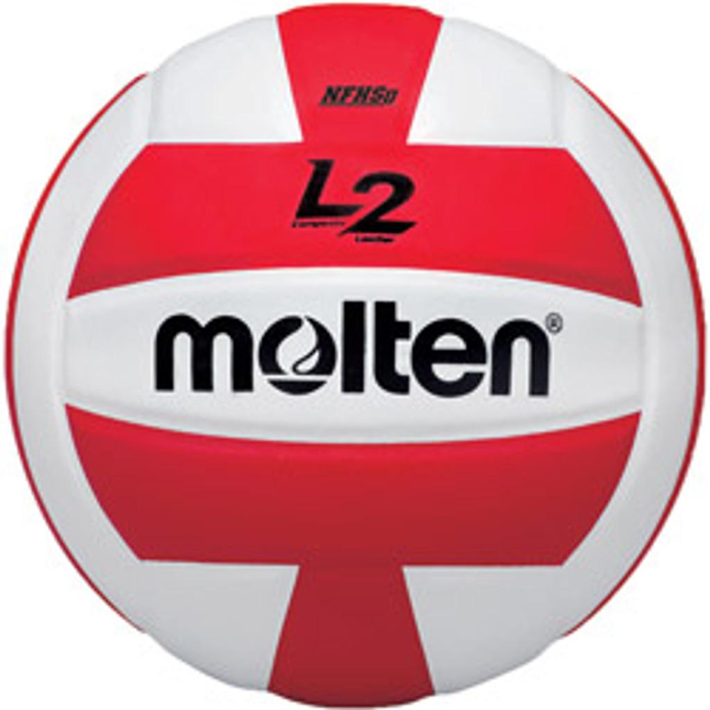 Molten L2 Volleyball - IVU-RED-HS