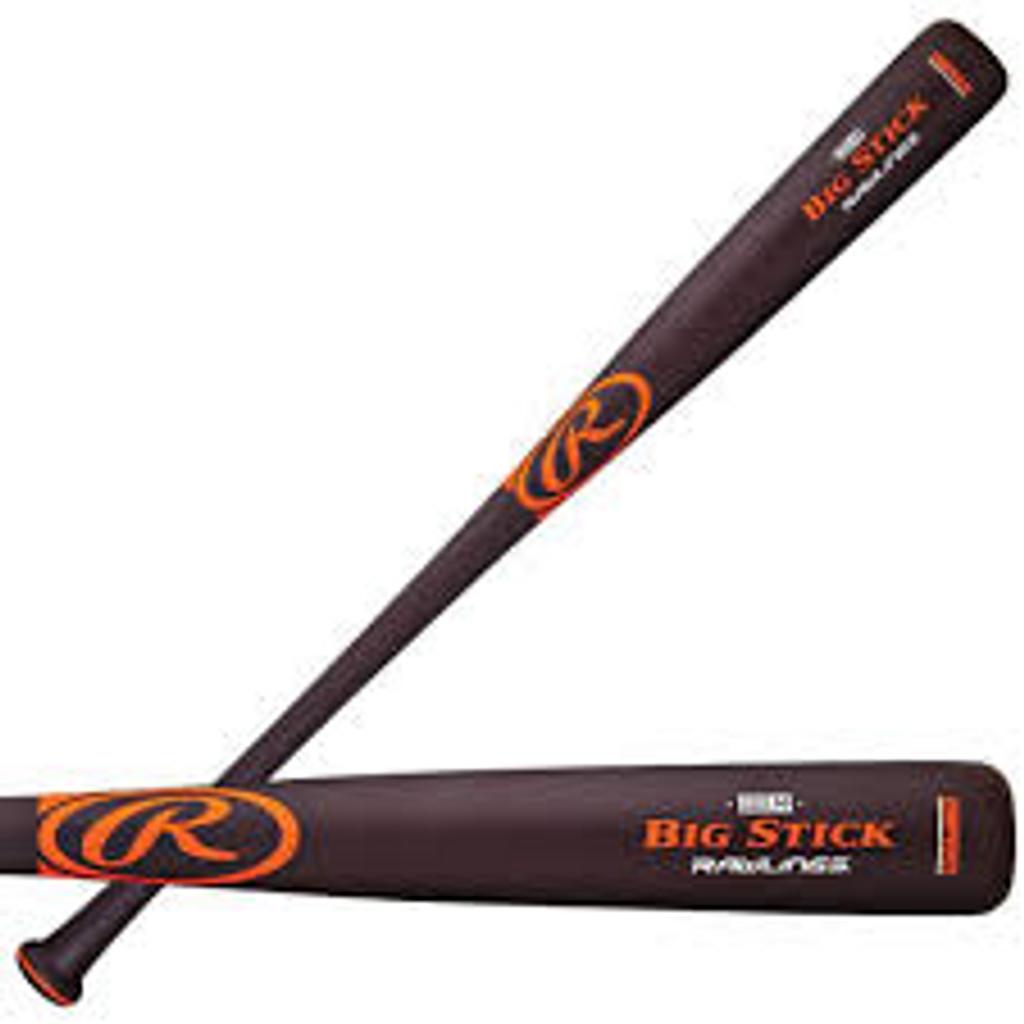 Rawlings Big Stick Maple Ace Wood BBCOR Baseball Bat (-2)