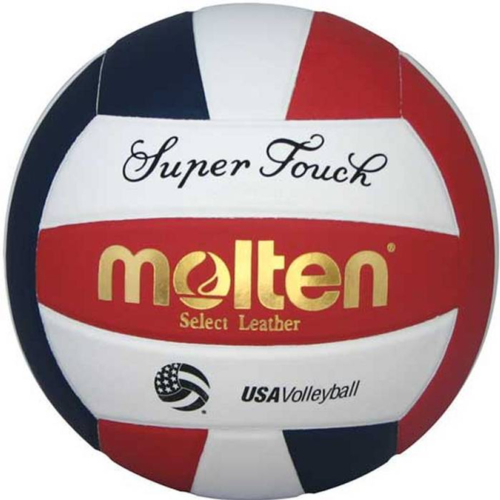 Molten Supertouch Volleyball - IV58L-BLK/RED-HS