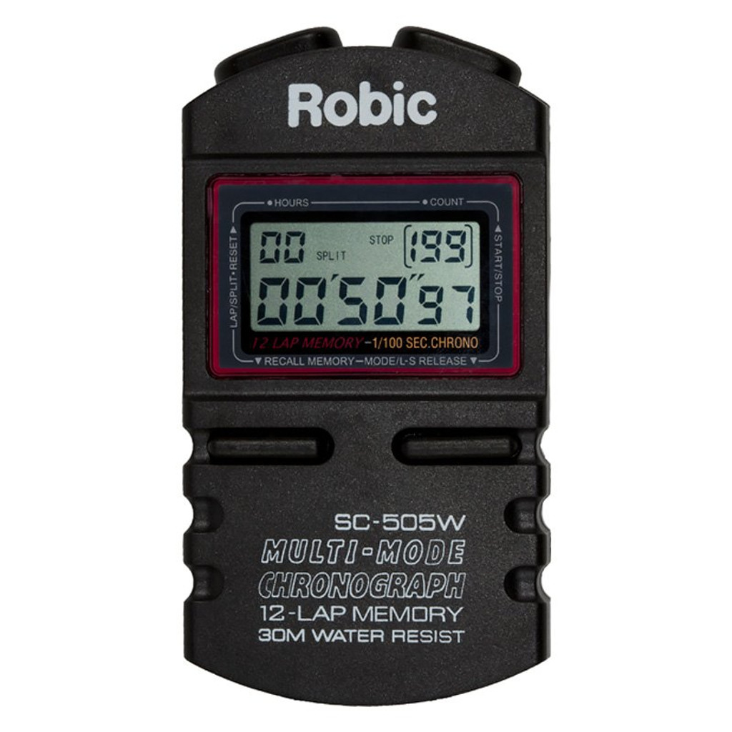 Stopwatch Robic SC-505W 12 Memory