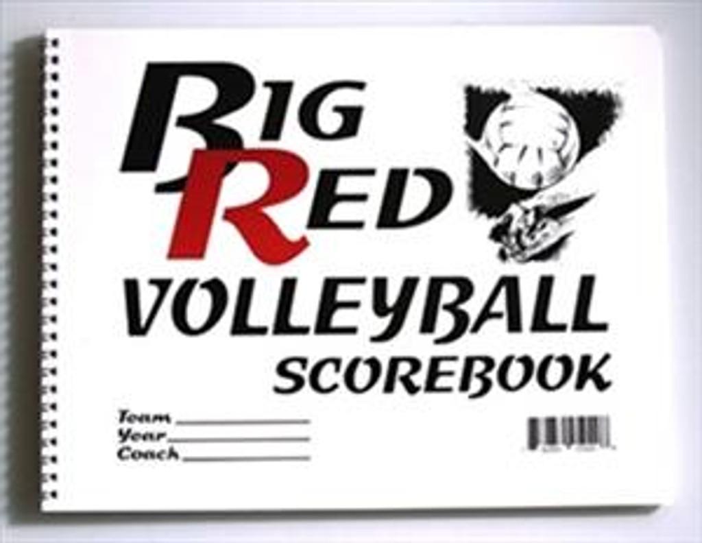 Big Red 5020 Volleyball Scorebook