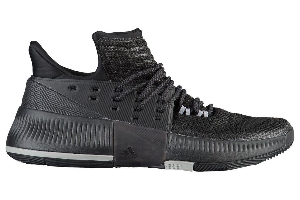 new concept 9b863 0edd0 Dame 3 BY3206, Black, KM Sports, Damian Lillard, Basketball, Shoes