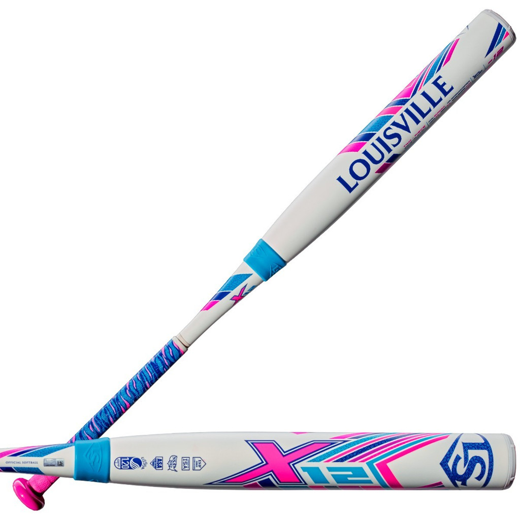 Louisville Slugger X12 (-12) Fast Pitch Bat WTLFpX219A12