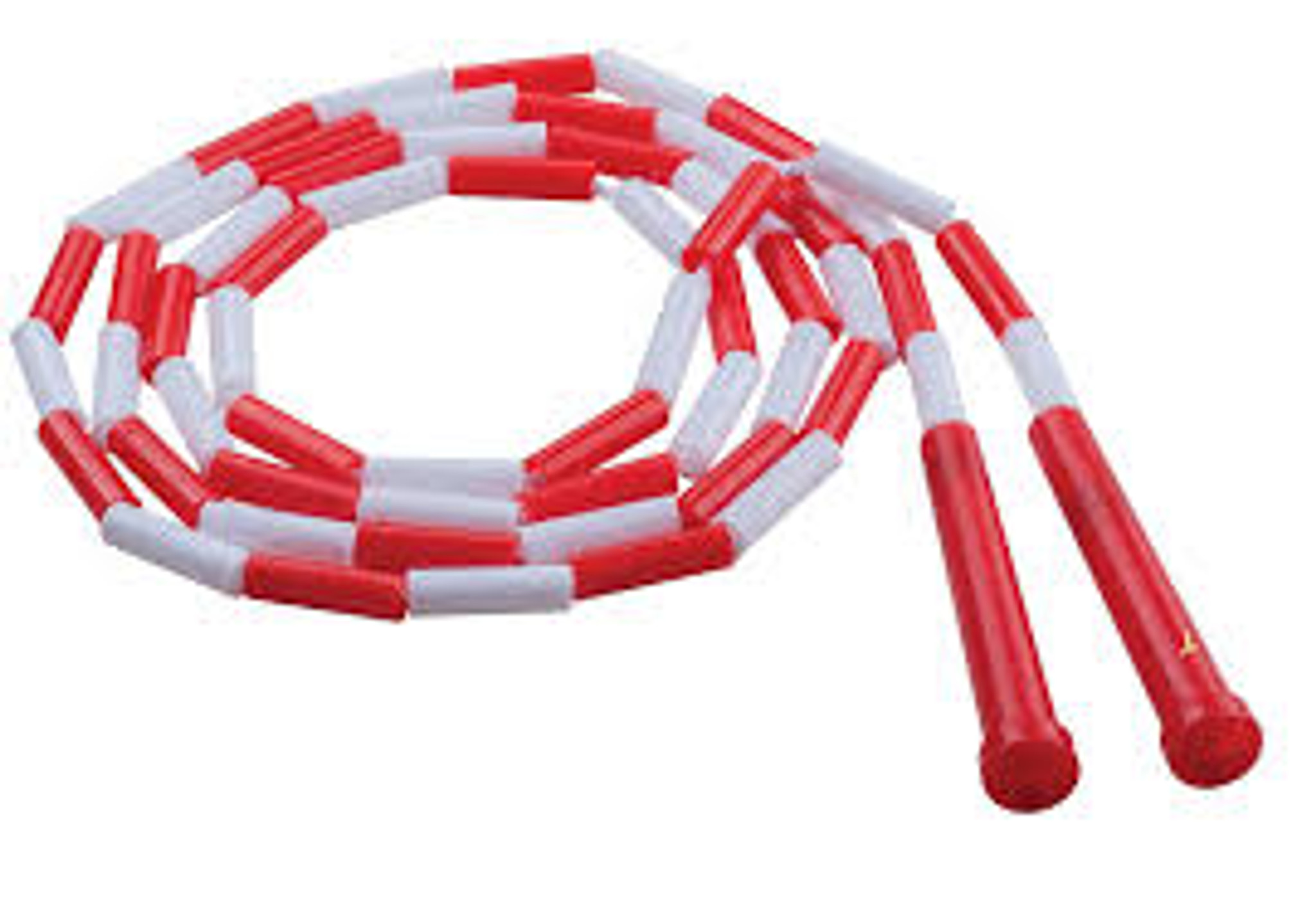 US Games Segmented Skip Rope Red and White 7/'