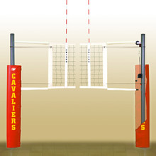 Match Point Volleyball System, Complete w/ Floor Sockets