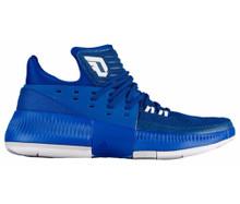 Dame 3 BY3191, White, Royal, KM Sports, Damian Lillard, Basketball, Shoes