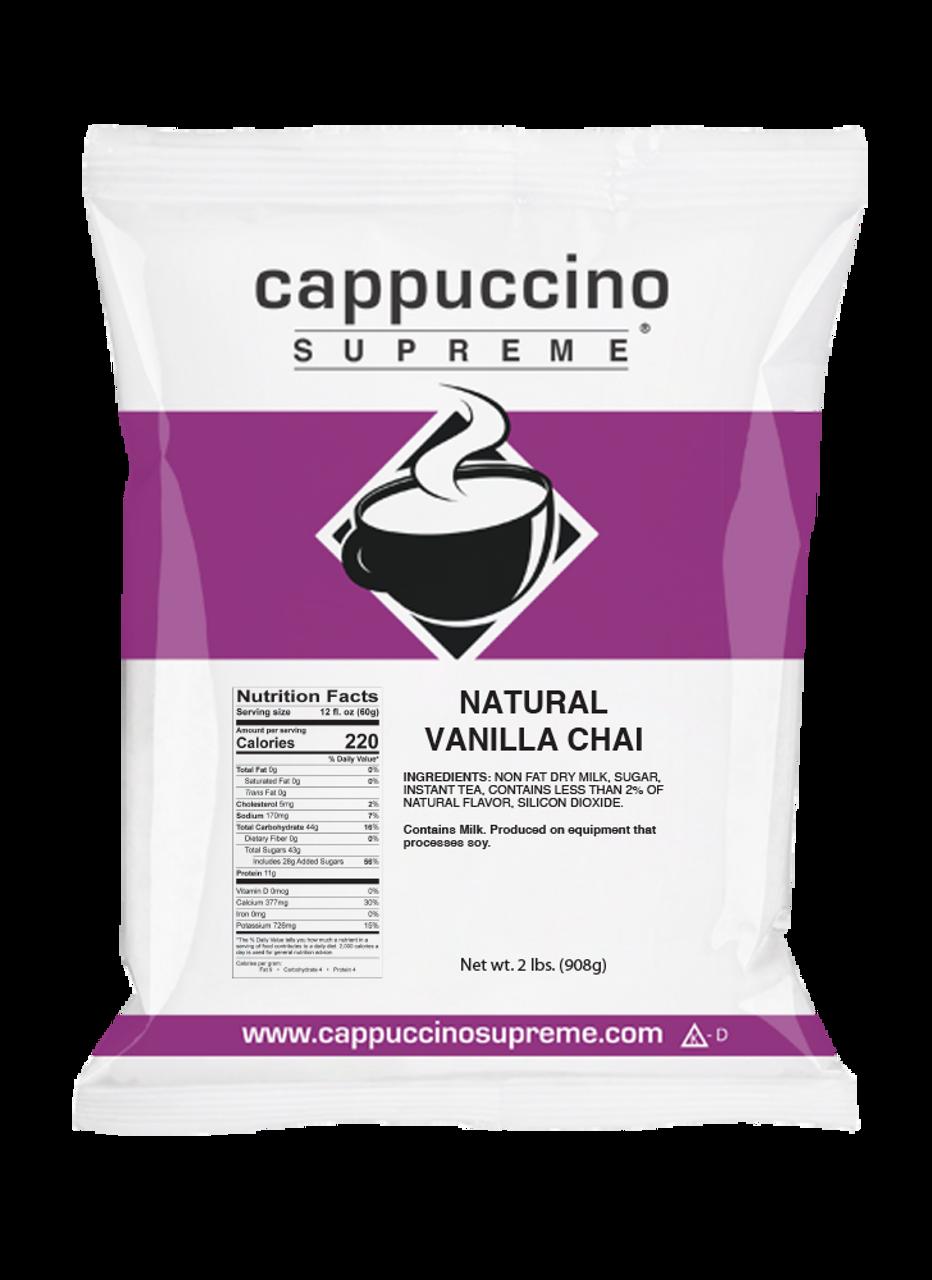Natural Vanilla Chai Mix 2 Lb  Bag