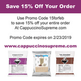 A CappuccinoSupreme.com Promo Code For February 2019