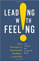 Our own Cornelia Roche Has Co-Authored A Book! Leading with Feeling: Nine Strategies of Emotionally Intelligent Leadership