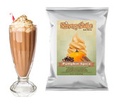 How To Make Pumpkin Spice Milkshakes With Shivery Shake Pumpkin Spice Soft Serve Mix