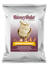 Shivery Shake Salted Caramel Soft Serve Mix