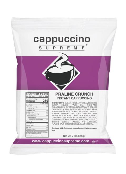 Praline Crunch Cappuccino Supreme 2 lb. bag