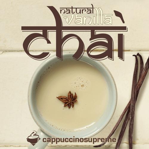 Natural vanilla chai 2 lb bag