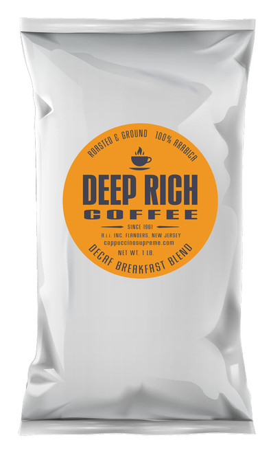 Deep Rich fresh roasted and ground breakfast blend coffee 1 lb. bag