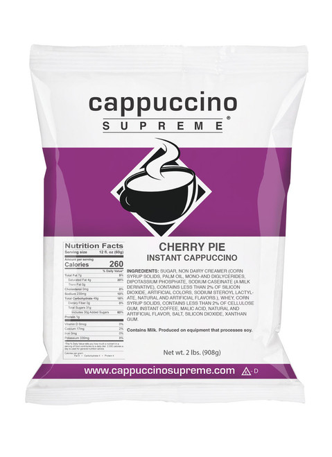 Cherry Pie Cappuccino Supreme 2 Lb. Bag