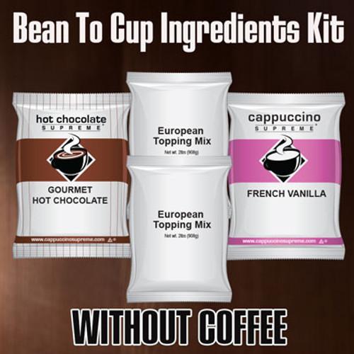 Bean to cup Powder Kit