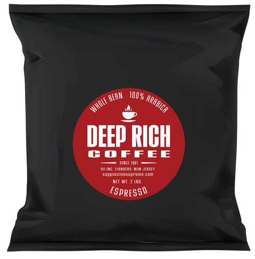 Deep Rich Espresso Blend 2 lb. Bag