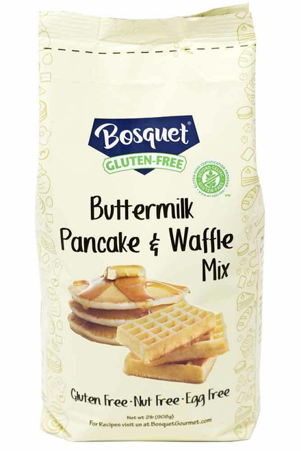 Bosquet Certified Gluten-Free Buttermilk Pancake and Waffle Mix 2 Lb. Bag