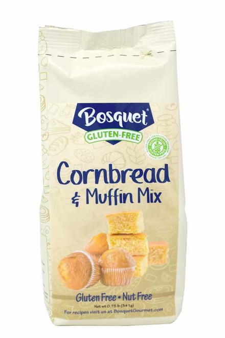 Bosquet certified gluten-free cornbread and muffin mix .75 lb. bag
