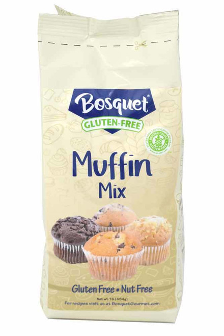 Bosquet Gluten-Free, Nut Free Muffin Mix in 1 Lb. Bag