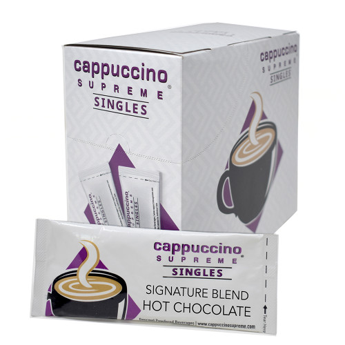 single serve hot chocolate mix 25 x 1 oz box