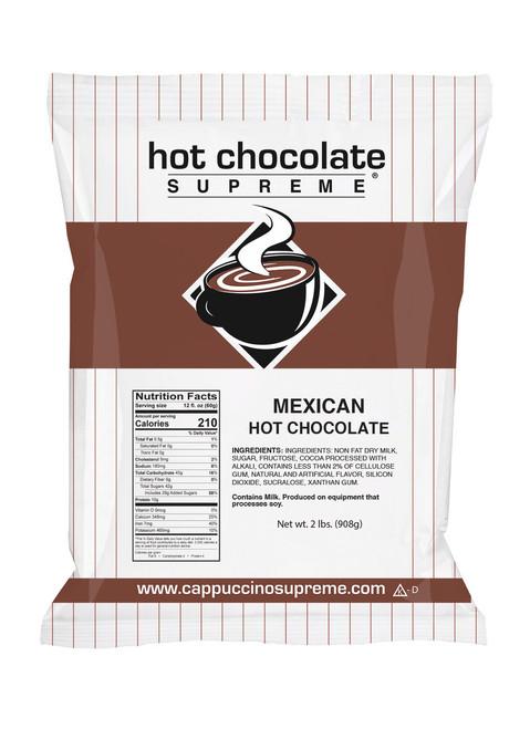 Mexican Hot Chocolate Supreme 2 lb. bag