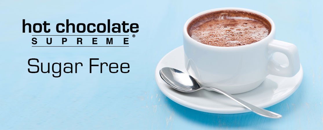 sugar free hot chocolate mix in 1.2 lb. bags perfect for home use or in cappuccino machines.