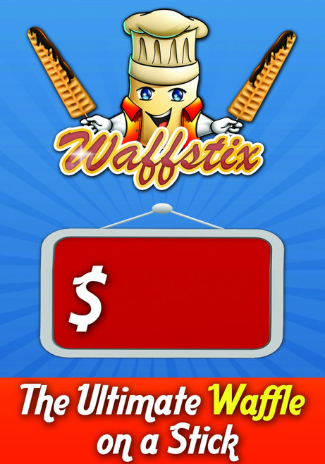 Waffstix PVC Price Banner